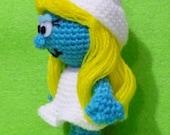 Smurfette Crochet Ammigurumi- Finish Doll
