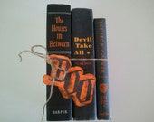 RESERVED Vintage Book Set-Black