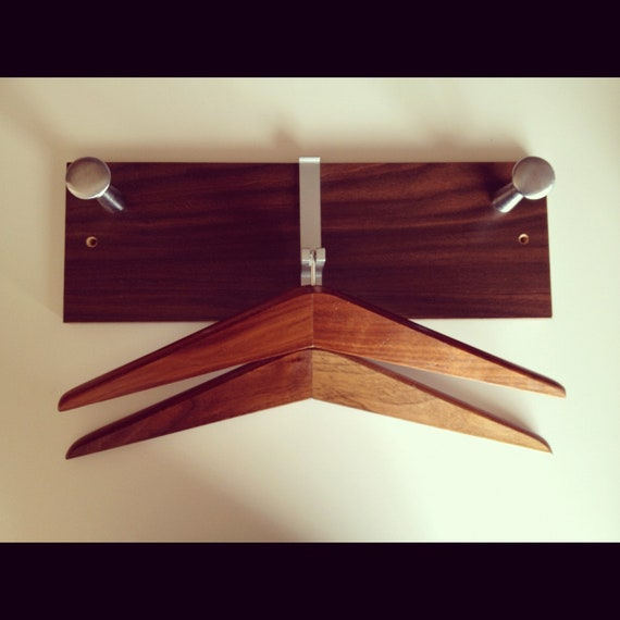 Items Similar To Mid Century Modern Wall Coat Rack With