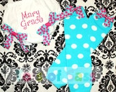 Girls Diaper Cover or Tutu Bloomer and Leg Warmer Outfit Set - PERSONALIZED for Baby Girls, Newborns, and Toddlers
