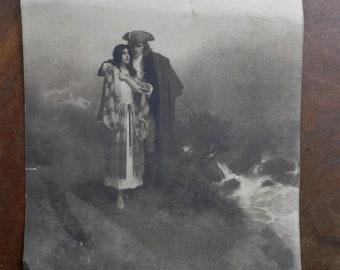 old Copley Print W.L. Taylor art print