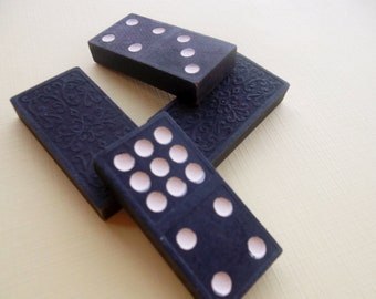 Four Vintage 1950s Dominos