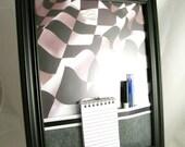 dry erase board, framed, sports,