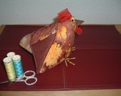 FREE SHIPPING Hen-rietta hand made pin cushion
