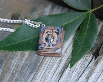 Adventure Time- The Enchiridion Necklace