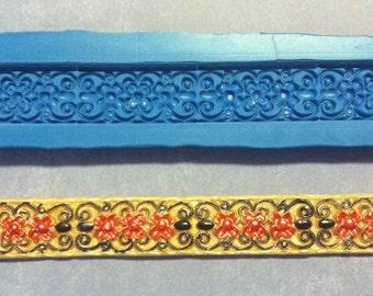 border silicone molds (jeweled filigree number 1)