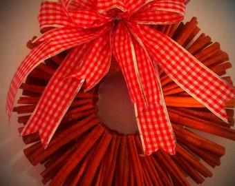 12 Inch Cinnamon Wreath