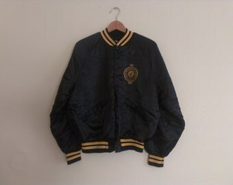 60s vintage men's medium steelworkers union jacket