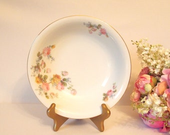 Vintage China Serving Bowl Floral Pink Roses Cottage Chic EPIAG Springer & Co.- Circa 1920-1945 Shabby Cottage Chic Dining Serving