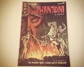 Gold key The Phantom comic from 1963. Lee Falk. full color vintage 1960's Jungle mysteries