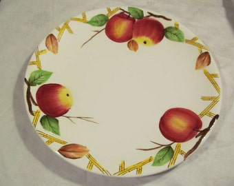 Nola Ware Crab Apple Dinner Plate