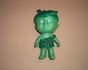 Little Sprout  rubber toy doll with swivel head