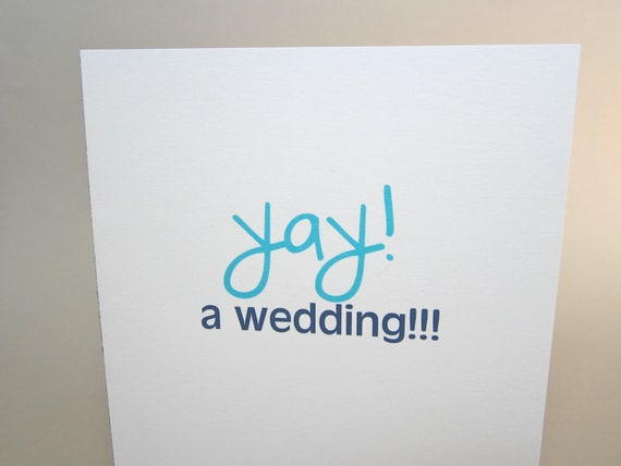 """Funny Wedding Card, Engagement Card, Getting Married Card - """"Hot Bridesmaids"""""""