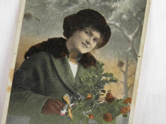 WWI Sweetheart Correspondence Postcard - German Writing