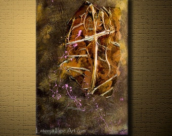 Art For Charity - Abstract Expressions Modern Art Paintings - Redeemer