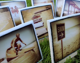 Beach Themed Coasters cont. - Create a Set of 4