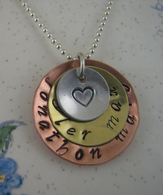 Mothers Day Gift Personalized Jewelry Name Necklace Initial Necklaces Custom Mother Necklace