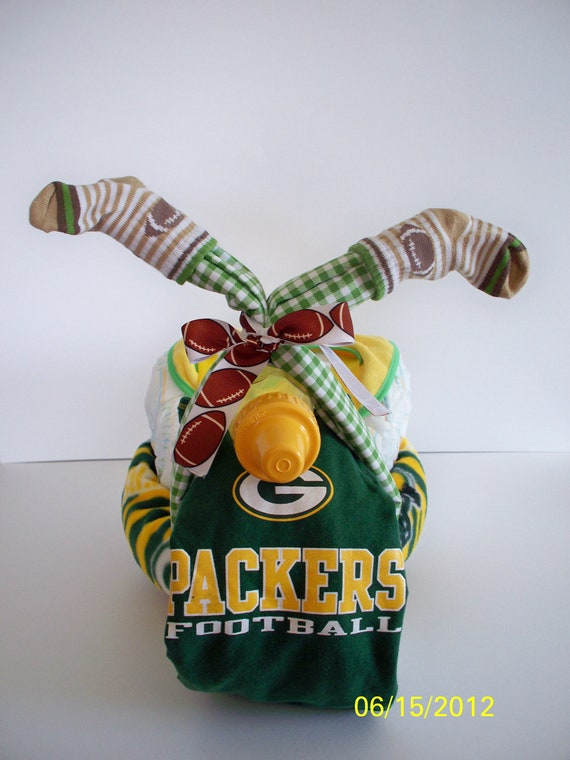 Football Baby Shower Gift Green Bay Packers Life Of The Party