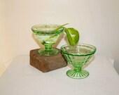 Depression Glass Sherbert Bowls