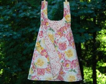 Reversible Pinafore Dress, Size 4T