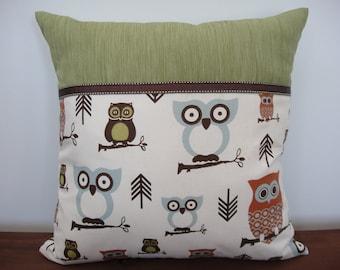 Owlin' Around Kids Cushion Cover 45 x 45cm