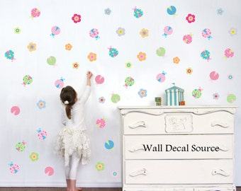 Superb Lady Bug Wall Decals   Girls Wall Decals   Wall Decals For Girls   Vinyl  Stickers Part 9