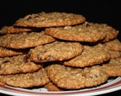 Country Girl Oatmeal Raisin Cookies