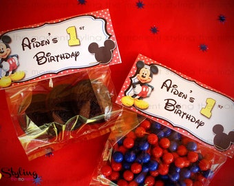 Mickey Mouse Bag Topper