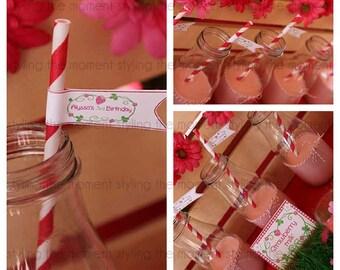 Strawberry Shortcake Printable Mni Flags