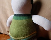Green Greg Waldorf Inspired Doll