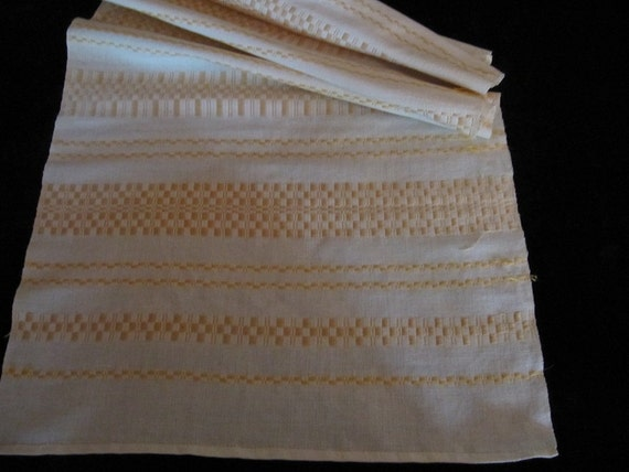 Long swedish hand woven runner / 1970 s/sweden handi craft