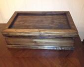 Whiskey Box with Plush Bottom