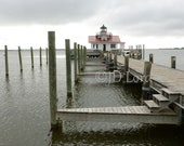 SALE Manteo, NC Lighthouse, 8 x 10 Photographic Print.