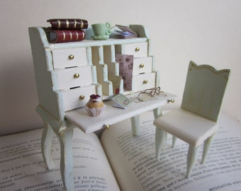 Dollhouse Miniature Desk