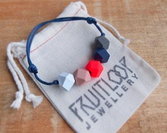 Hot Lips adjustable bracelet