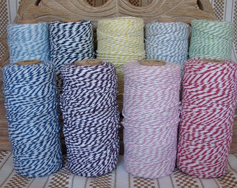 Baker's Twine - Choose Your Colors - Three Full 100 Yard Spools