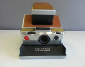 Vintage Polaroid Land Camera SX-70 with Leather Case