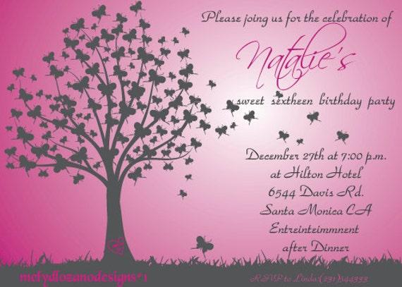 Pretty Quinceanera Invitations was nice invitations example