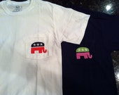 GOP Monogrammed Pocket Tees