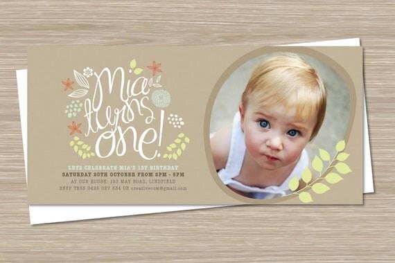 ... Invitations, 1st Birthday Invites Boy Girl, Custom Invites on Etsy