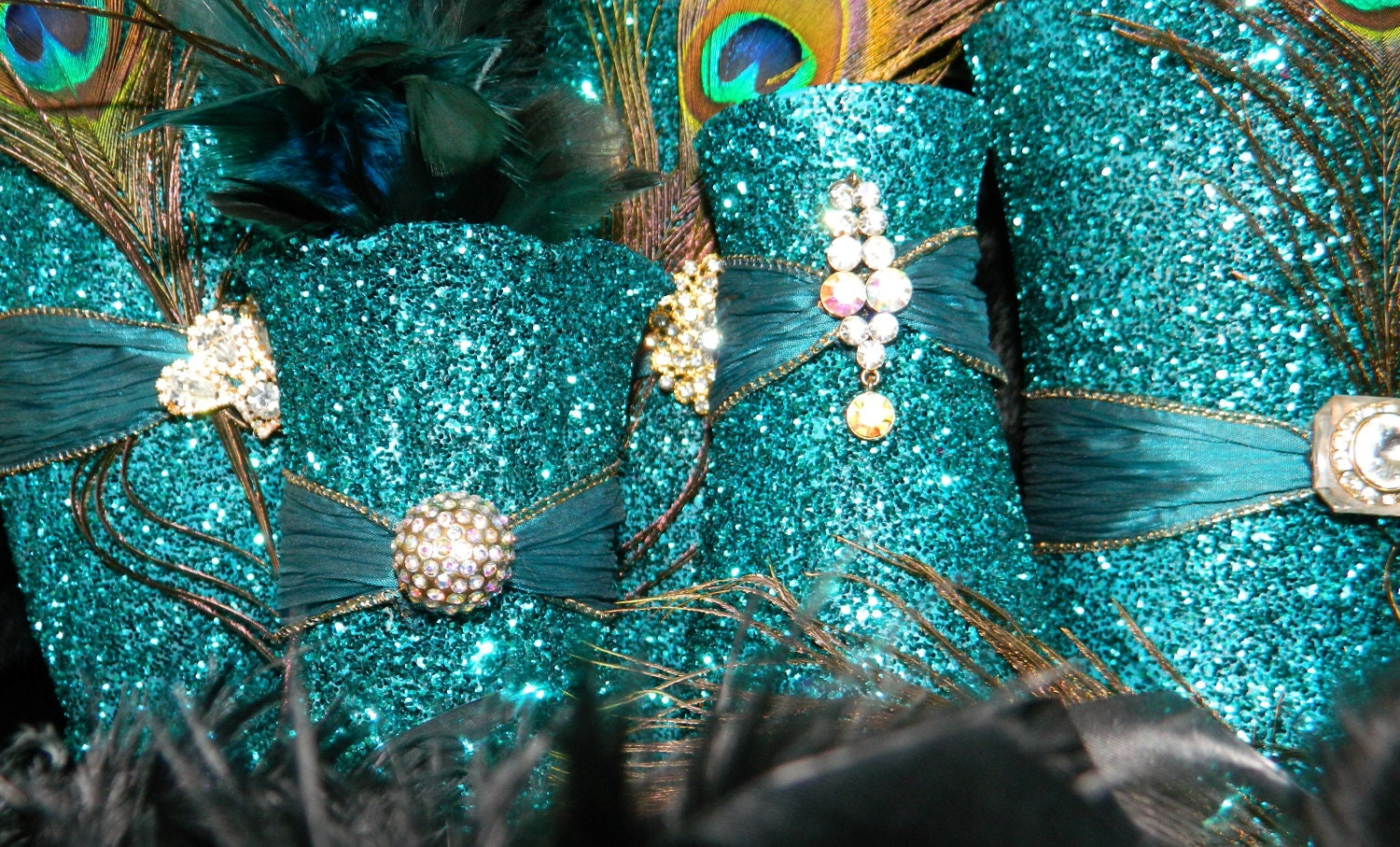 Peacock Wedding Decorations Peacock Wedding by KPGDesigns