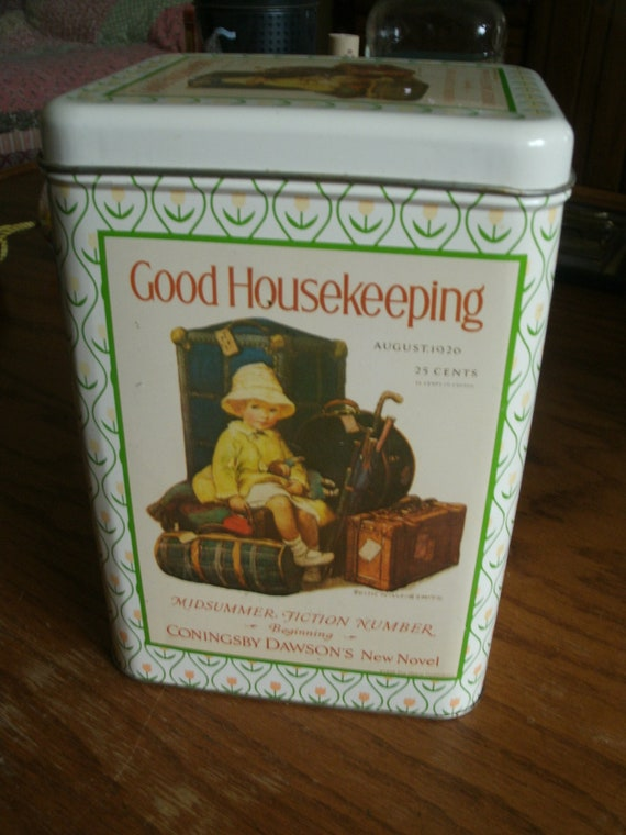 Vintage 1926 Good Housekeeping Tin