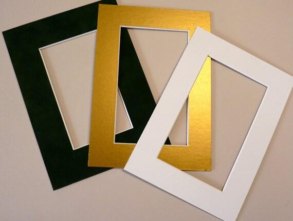 5 x 7 decor acid free photo mat set