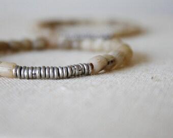 Natural Glass Bracelet //