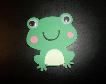 Frog Blank Card