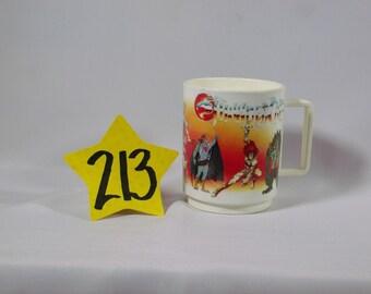 1985 Thundercats Cup w / handle -Deka Telpix