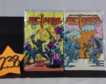 1984 Sectaurs Mini Comics by Coleco