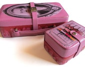 Mr. Pink RESERVOIR DOGS jewelry travel case set