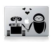 Love of robot-Mac decals Macbook sticker Macbook pro decal Macbook air decal Apple decal sticker
