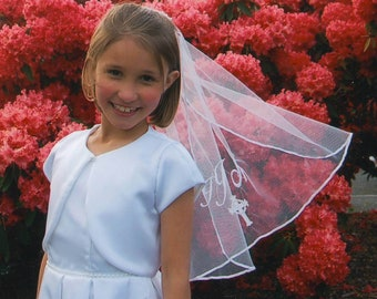 Isabella's First Communion Veil